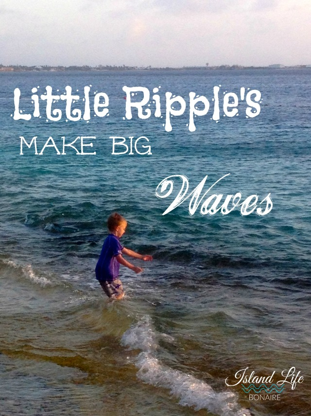 Little Ripple's make big waves.
