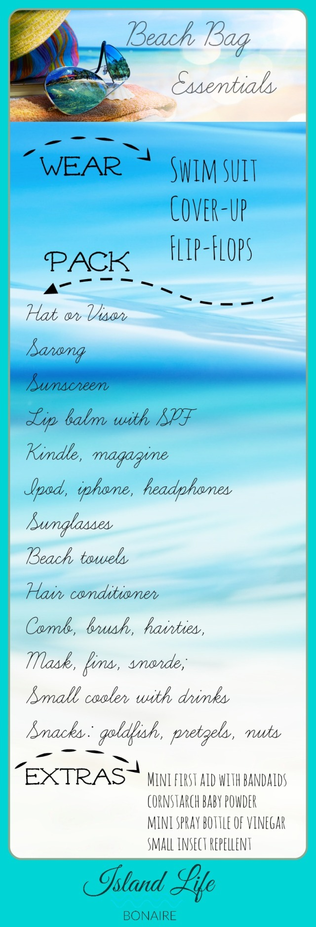 Beach Bag Checklist